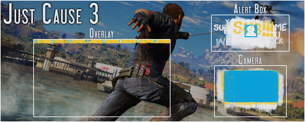 Just Cause 3 Stream Overlay