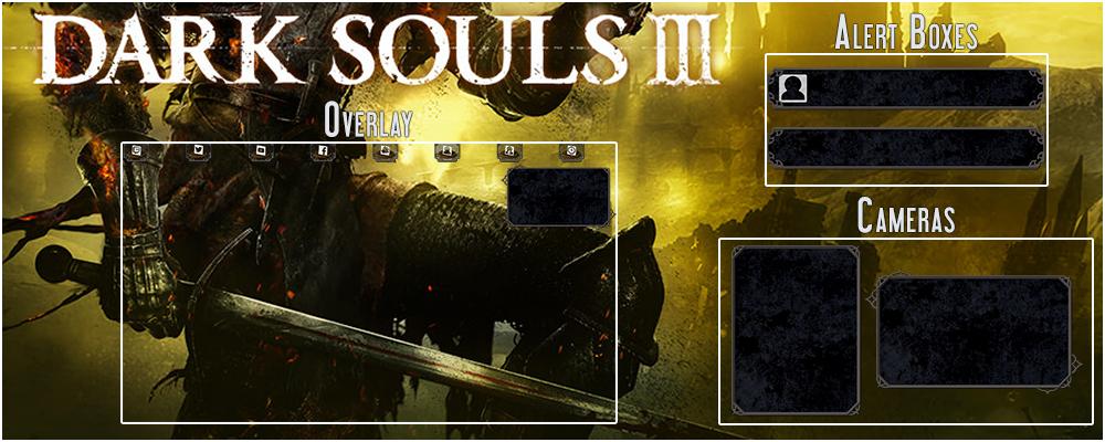 Dark Souls 3 Stream Overlay